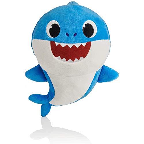 Venta caliente bebé tiburón canción oficial muñeca papá tiburón tiburón tiburón peluche animal FDWFN