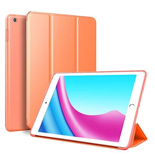 BLITY - Funda para iPad Mini 1 2 3 (Piel sintética, función Atril), Color Naranja