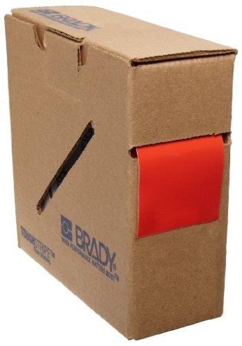 Brady ToughStripe Nonabrasive Floor Marking Tape, 100 Length, 2 Width, Red (Pack of 1 Roll) - 104313