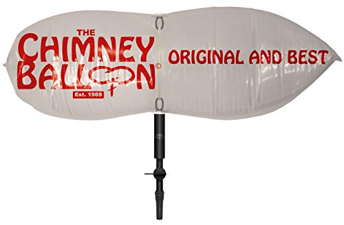 15 x 9 inch Chimney Balloon Chimney Draught Excluder + FREE mouth inflation tube - Original and...