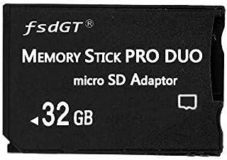 Fengshengda 32G High Speed Memory Stick Pro HG Duo Class 10 32G Micro SD und Mark2 HX Adapror für PSP Zubehör