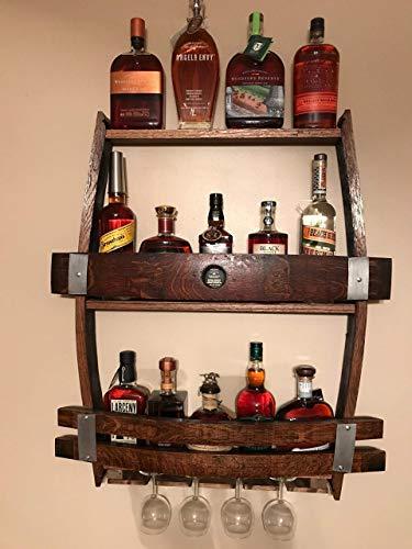 Whiskey Wine rack Liquor cabinet