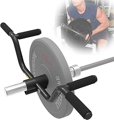 CLTWYZ Multi-Grip con Barra De La Manija, T-Bar Bar Fila De Minas Adjuntos, Gym Equipment - Se Adapta A Barras 50 Mm Y 25 Mm Olímpicos, T Bar Plataforma Fila