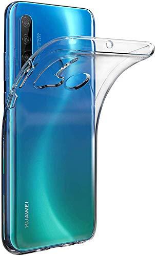 Captor Cover Trasparente per Huawei P20 Lite 2019 / Nova 5i Custodia TPU in Silicone Flessibile Morbida e Sottile, Protezione Full Body con Bordo Rialzato per Schermo e Fotocamera