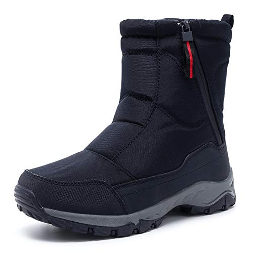 QCBC Zapatos de Invierno de Nieve los Cargadores del Tobillo de Las Mujeres, Antideslizante Impermeable Resistente al Desgaste Freeze prevenir Grietas Caliente,40 EU
