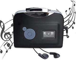 Lychee Reproductor de Cinta Casetes Portátiles y Convertidor,Convierte los Cassettes de Audio a los Cassettes de MP3 Digitales, Guardar en USB Flash Disk Directamente -No Requiere PC