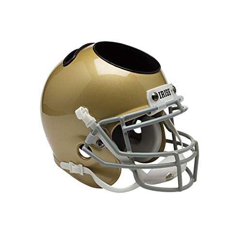 13af44e3e36e Amazon.com : Schutt NCAA Notre Dame Fighting Irish Football Helmet Desk  Caddy, Alt. 5, Mini : Sports Fan Polo Shirts : Sports & Outdoors