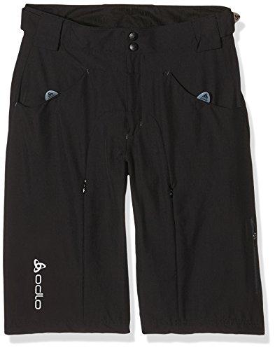 Odlo 421242 Bermuda de vélo pour Homme Endurance avec Boxer Cubic Amovible Noir (15000) Taille S