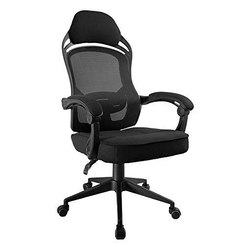 Cadeira Escritório Presidente Gamer Preta Toquio 4911