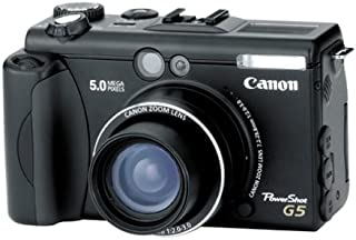 Canon PowerShot G5 5MP Digital Camera w/ 4x Optical Zoom