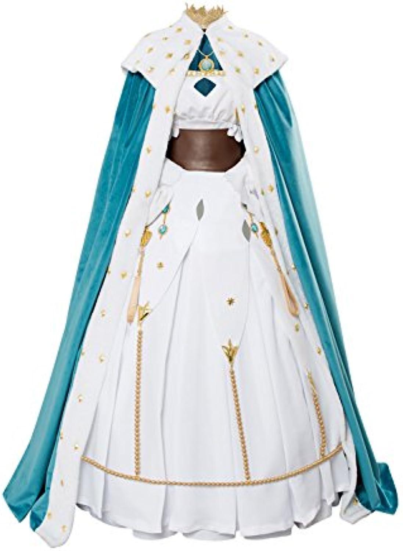 Karnestore Fate Grand Order Cosmos in The lostbelt Anastasia Outfit Cosplay Kostüm Damen L