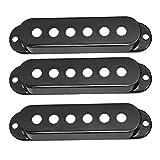 3x Cubierta Cubre para Pastillas de Una Sola Bobina SSS para ST SQ Guitarra Eléctrica - 52mm