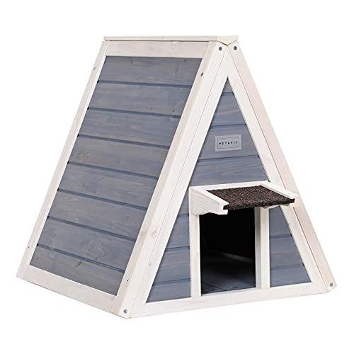 Petsfit Cat House for Outdoor Indoor Cats Weatherproof,...