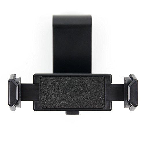 DURAGADGET Sun Visor Mount - Compatible with Alcatel Pixi 4 Plus Power | A3 XL | A3 | A30 | A5 LED | Dawn | Fierce 4 | GO PLAY | Ideal 4G LTE | Idol 4 | Idol 4s/Idol 4 pro & One Touch 20.01