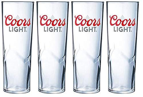 4 x Coors Light Pint Glass (Colour Change)
