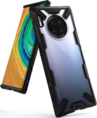 Ringke Fusion X Gestaltet für Huawei Mate 30 Pro, Huawei Mate 30 Pro 5G Hülle, Schutzhülle (2019) - Black