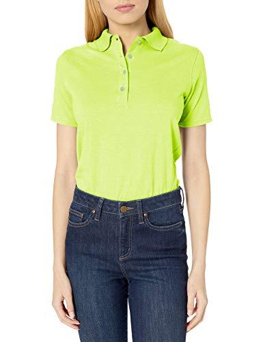 Hanes Damen X-Temp Performance Poloshirt - Gelb - XXX-Large
