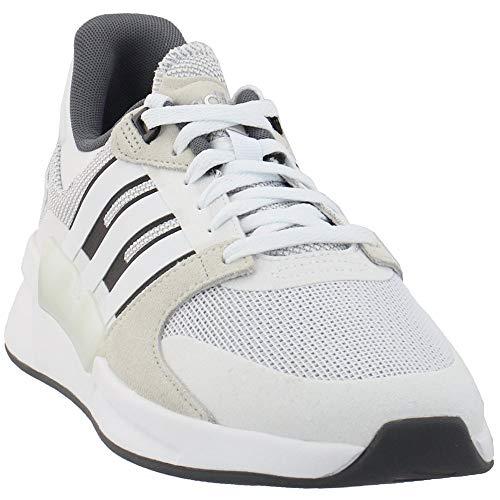 adidas Men's Run90s Running Shoes Cloud White/Cloud White/Raw White 11