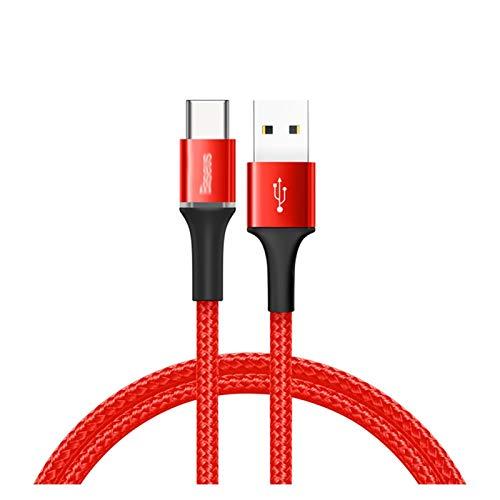 GBHD Cable de extensión USB Cable de Tipo C de USB, Adecuado para Samsung S20 S10 Plus Xiaomi Cable de Carga rápida USB-C Cargador USB-C Tipo USBC Tipo C Cable 3M Cables de teléfono Celular