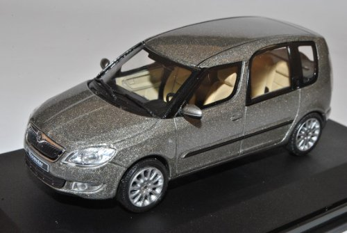 Abrex Skoda Roomster Cappuccino Beige Metallic Ab Facelift 2010 143AB025YB 1/43 Modell Auto