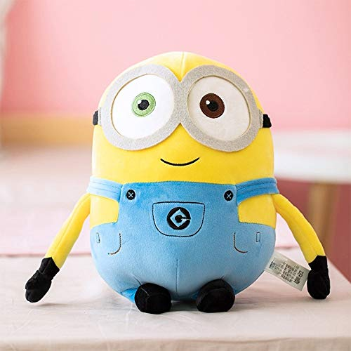 Leuke PP katoenen kussen Little Yellow Man Doll Pluche Toy Ins Kinderen Doll Doll Kinderen Gift (Size : L)
