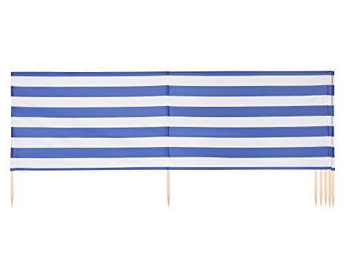 Ladeheid Strand Windschutz Sichtschutz LAEX001 (Streifen, 6 m)