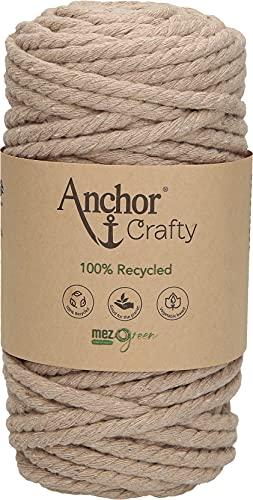 Anchor Crafty - Ovillo de lana (5 mm, 250 g, 40 m aprox.)
