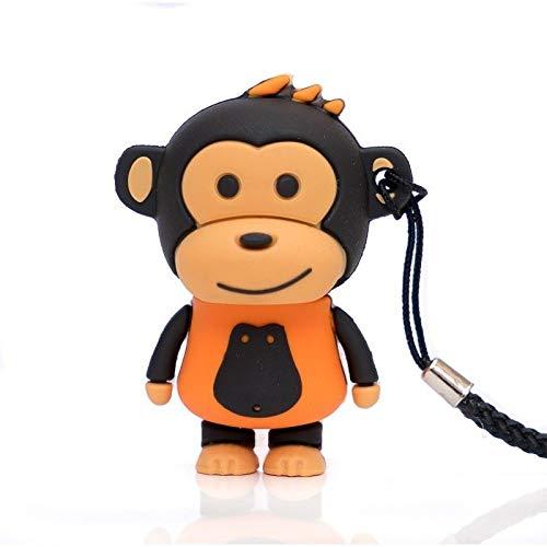 Pen Drive Fig.16GB MAKAKO Mono Naranja