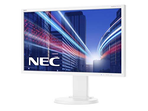 NEC MultiSync E243WMi 60,47cm 23,8Zoll TFT LCD 1920x1080 analog+digital Hoehenverstellbar VESA 1000:1 6ms 250cd Weiss