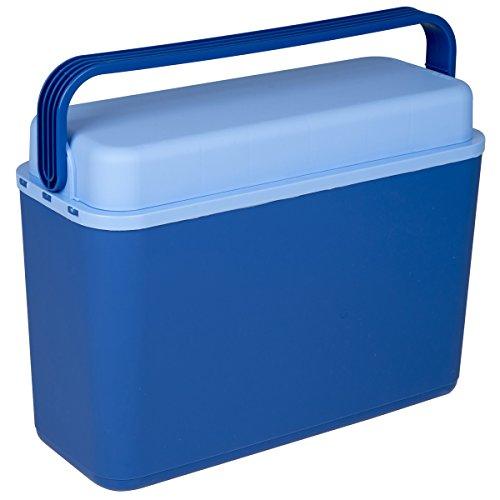 Siehe Beschreibung Kühlbox 12 Liter Kunststoff 17x41cm in Blau ideal für das Auto • Picknick Kühltasche Camping Kühlkorb Kältebox Isolierbox Getränkebox