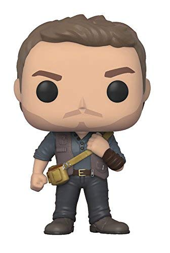 Funko Pop!- Pop Movies: Jurassic World: Fallen Kingdom-Owen Grady Park Figura de Vinilo, Multicolor (30979)