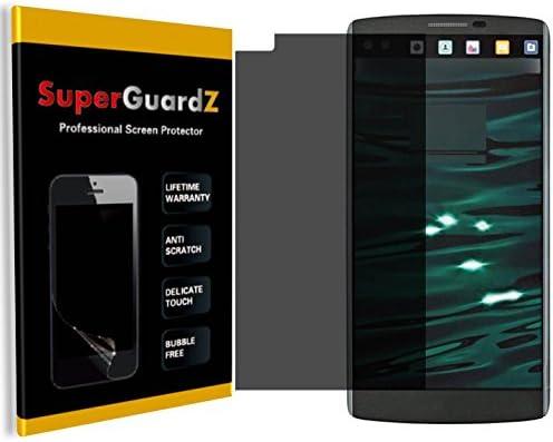 2 Pack For LG V10 SuperGuardZ Privacy Anti Spy Screen Protector Anti Glare Anti Scratch Anti product image