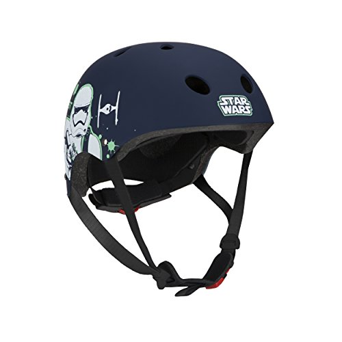 Disney Kinder Skate helmet STAR WARS STORMTROOPER STAR WARS 1, Mehrfarbig, M