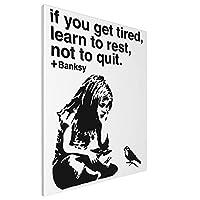 Banksy バンクシー (1) ポスター アートパネル アートフレーム モダン ポスター バンクシー フレーム装飾画 おしゃれ かわいい キャンバス絵画 アートボード 部屋飾り 壁の絵 壁掛け ソファの背景絵画 木枠セット 北欧 印象派 インテリア キャンバス 雑貨 40*50cm