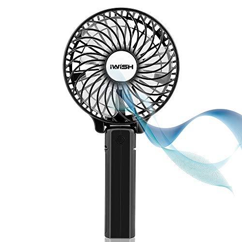Mini Fan 2200mAh Lüfter mit Portable air Conditioner USB Ventilator PC lautsprecher, air cooler, ventilator standventilator, tischventilator sehr leise, mini klimaanlage, ventilator klein, zubehör