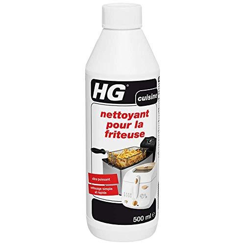 HG nettoyant pour la friteuse – un nettoyant friteuse rapide et sûr, Lot de 2