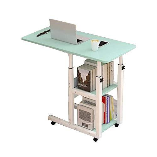 Mesa Multiusos Plegable Comedor Mesa para portátil, Mesa de Centro, Madera Maciza, fácil de Mover, salón, sofá, Mesa...