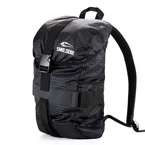 Smilodox Urban Backpack - Rucksack, Farbe:Schwarz
