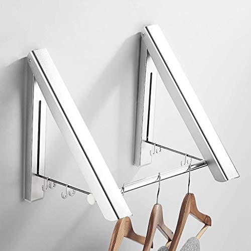 HEWEI kapstok gemaakt van aluminium in ruimtevaart-kwaliteit montage aan wand rack stansen Utili aluminium robuuste ruimtevaart-kwaliteit kleine behuizing (grootte: 80 cm)