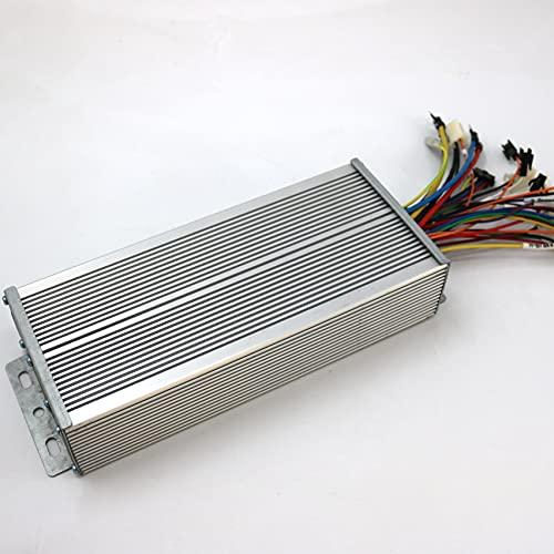 Regulador Patinete Electrico Sensor/Sensor sin Sentido 48V-72V 2000W 60Acax BLDC Controlador de Motor E-Bike Controlador DE Velocidad Controlador del Motor