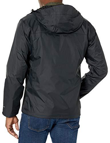 Columbia Men's Watertight II Rain Jacket, Black Large