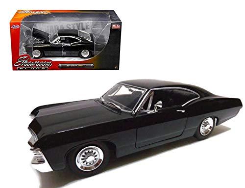 Chevrolet Impala 1967 schwarz, Modellauto 1:24 / Jada Toys