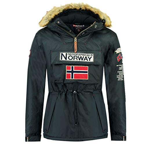 Geographical Norway - Parka De Hombre Boomerang AZUL MARINO XL