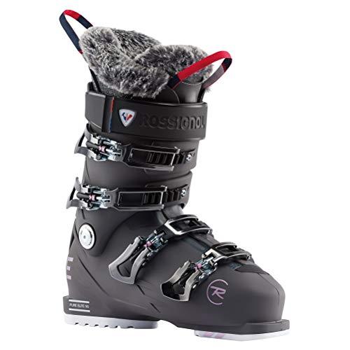 Rossignol Damen Pure Elite 90 Skischuhe, Graphit, 25