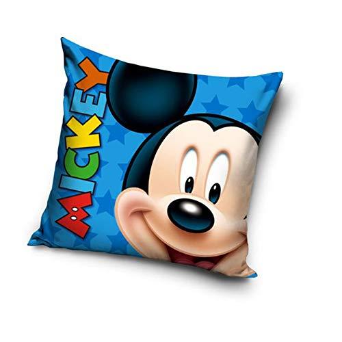 Une Mickey o Minnie, federa per cuscino 40 x 40 cm (blu 20712)