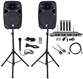 Rockville Dual 15  iphone/ipad/Android/Laptop,TV Youtube Karaoke Machine/System