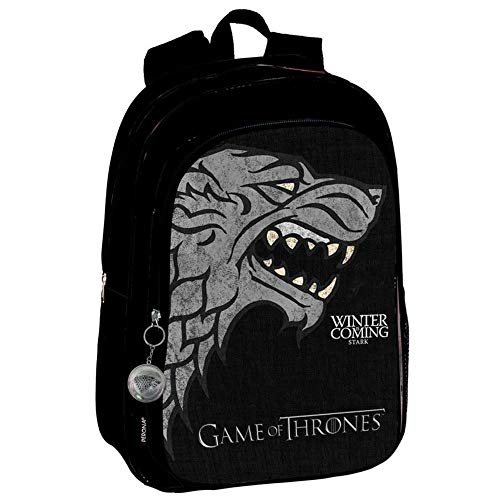 Game of Thrones Winter is Coming Stark Sac à Dos Officiel 43cm