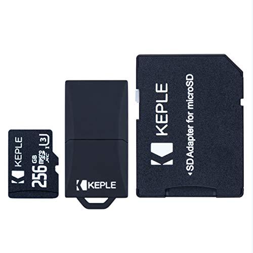 256 GB microSD-geheugenkaart Micro SD Compatibel met Samsung Galaxy S9 Plus S9 S8 S7 S6 S5 S3 S10, J9 J8 J7 J6 J5 J3 J2 J1, A9 A8 A7 A6 A6+ A5 A4 A3, Noot 9 8 7 6 5 4 3 2, Grand, Pro, Edge | 256 GB