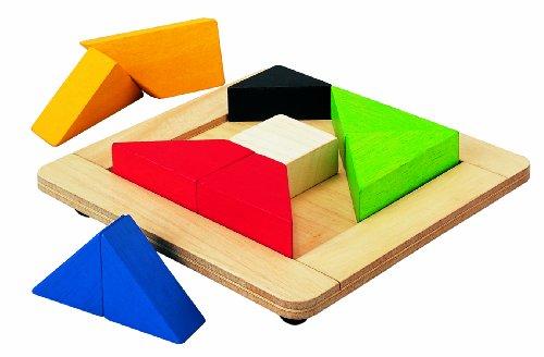 PlanToys - PT5143 - Jouet en bois - Jeu d'éveil - Puzzle Twist