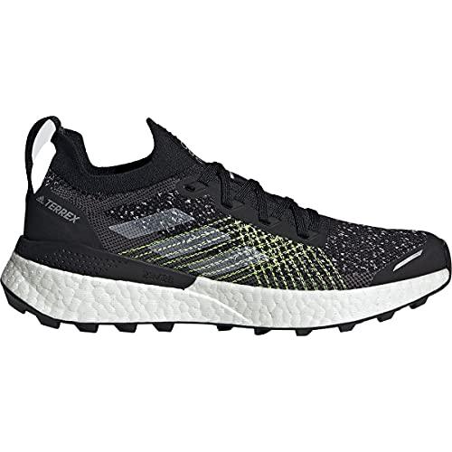 adidas Terrex Two Ultra PRIMEBLUE W, Zapatillas de Trail Running Mujer, NEGBÁS/FTWBLA/Amasol, 40 2/3 EU